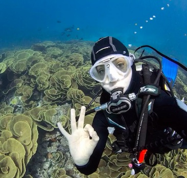Scuba Diving For Non Swimmers
