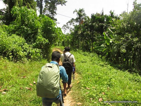 Trekking to Elephant Beach with Guide