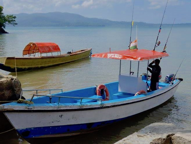 Fishing Trip To Rutland Island in Port Blair (For Upto 4 Adults)