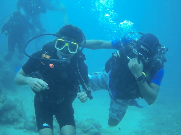 Try Dive Scuba Diving at Havelock