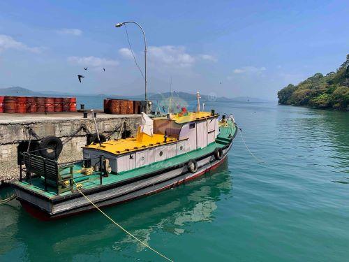 Enroute Andaman