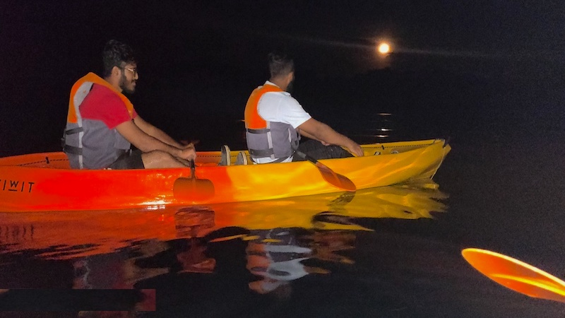 Night Kayaking in Havelock Island