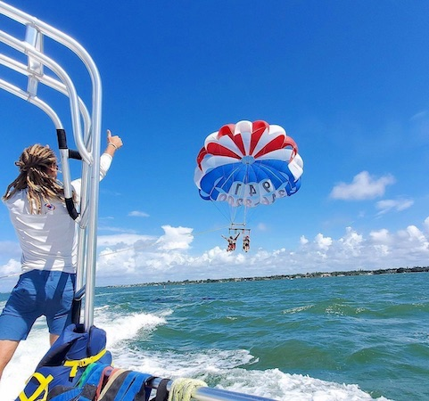 Parasailing In Havelock Island