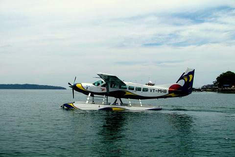 Sea Plane From Havelock to Port Blair (Not Operational)