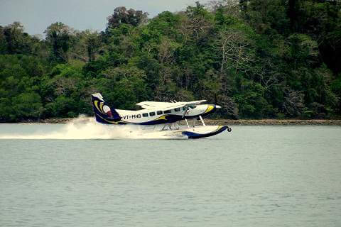 Sea Plane From Port Blair to Havelock (Not Operational)