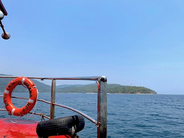 Ferry To North Bay and Ross Island